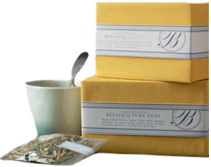 Bellocq no. 0 tea sample box