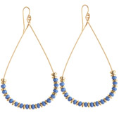 Calypso St. Barth Glass Bead Teardrop Earring