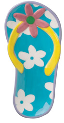 Boston Warehouse Fabulous Flip Flops Spoon Rest