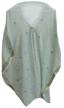 Jamdani Seema Tunic in Green