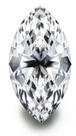 BC2 Marquise-Shaped Diamond