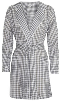 Steven Alan Gingham Check Robe