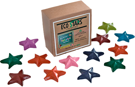 Eco Stars Crayons