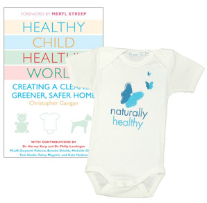 Healthy Child Healthy World Book and Onesie
