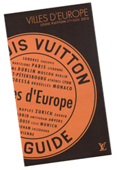 Louis Vuitton City Guide 2012 European Cities
