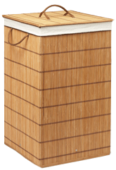 Square Bamboo Hamper
