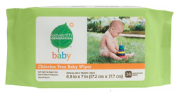 Seventh Generation Travel Baby Wipes