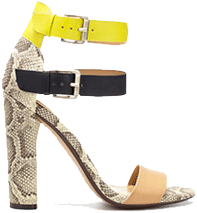 Zara High Heeled Sandals with Buckle
