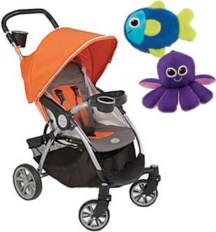 Baby Earth Joovy Caboose Ultralight Stand-On Stroller