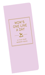 One Line a Day Mom Diary