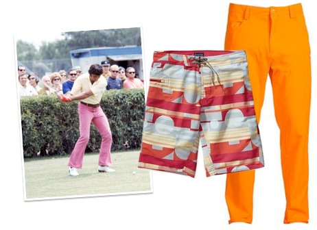 A collection of Joe Namath style bold bottoms