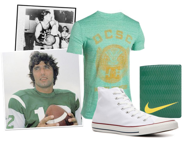 A collection of Joe Namath Style Jock Classics Clothing