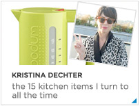Kristina Dechter Kitchen Finds