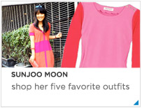 Sunjoo Moon 5 Favorite Outfits