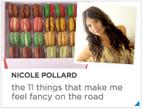 Nicole Pollard - The things that make me feel fancy when I travel