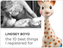Lindsey Boyd--Baby Registry Essentials