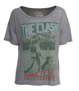 Chaser vintage rock and roll tops