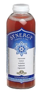Gingerberry Synergy kombucha
