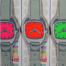 Neon Tic Tac Watch