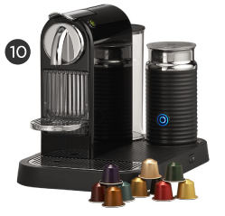 Nespresso Citiz Espresso Machine with Aeroccino Frother