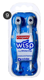 Colgate Wisp Brushes