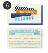 Minted Personalized Calling Cards
