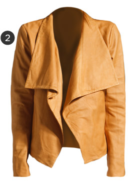 Theory Kanya Rowdy Leather Blazer