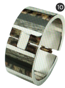 PONO Global Hinged Cuff in Safari