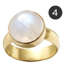 Sundance Mysteries of Moonstone Ring
