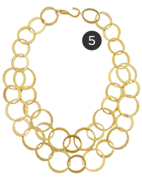 Kenneth Jay Lane Double Chain 