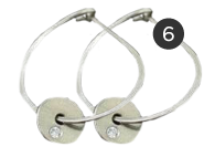 Helen Ficalora Hoop Earrings