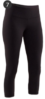 Lululemon Wunder Under Cropped Yoga Pants