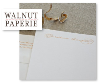 Walnut Paperie Personalized Stationery