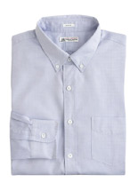 J Crew Slim Washed Thomas Mason Fabric Button Down Shirt
