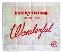 Everything Here is Wonderful Map