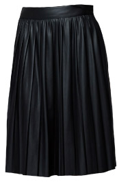 Zara Leather Effect Rubberized Skirt