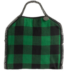 Stella Mccartney falabella coat small foldover tote