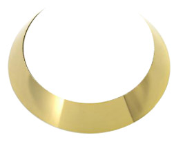 Dannijo Naomi Necklace in Gold