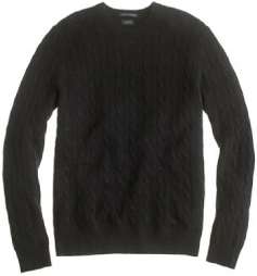 J. Crew Cashmere Cable Sweater