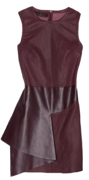 Neil Barret Leather Shift Dress
