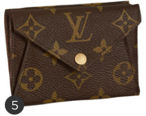 Tiny Louis Vuitton Compact Wallet