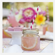 Baby Showers Mason Jar Sippers
