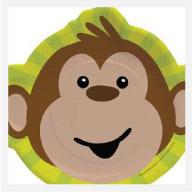 Monkey Plates