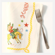 Buckaroo Birthday Napkin