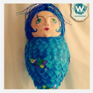 Wanda the Mermaid, Custom Order Pinata