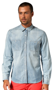 life/after/denim All Week Shirt in Cloudy Wash from Revolve Clothing